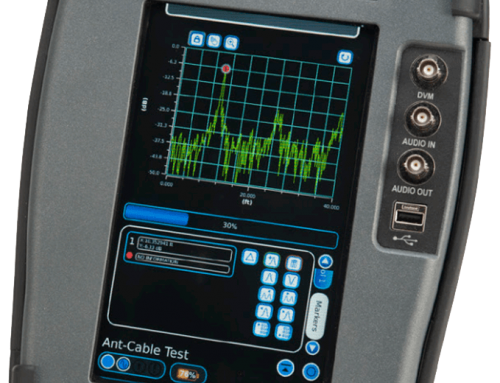 3550R Touch-Screen Radio Test System